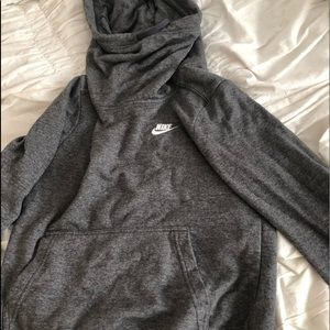 Cow neck grey Nike sweatshirt